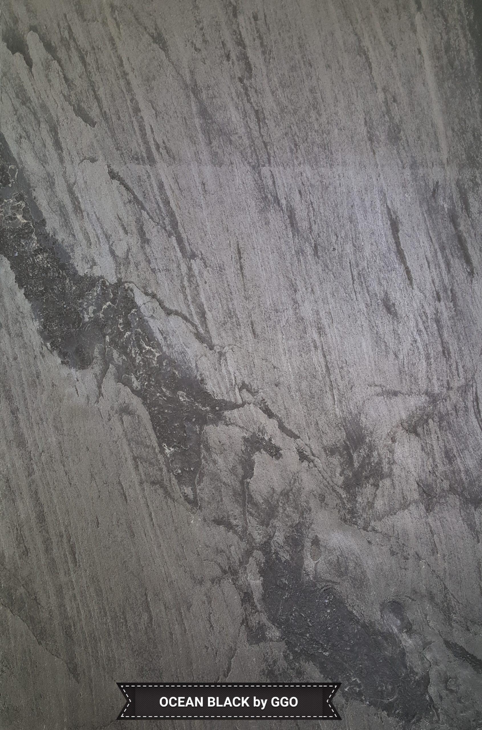 Feuille de pierre ocean black