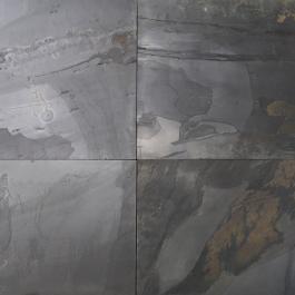 Parement ardoise Rustic Black 40×40