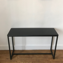 Table console granit effet cuir 35×120