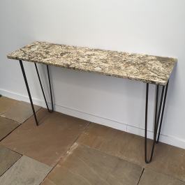 Table console granit poli 35×120