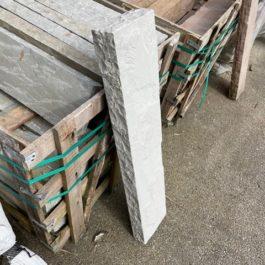 Bordure grès kandla gris 100x20x6/8