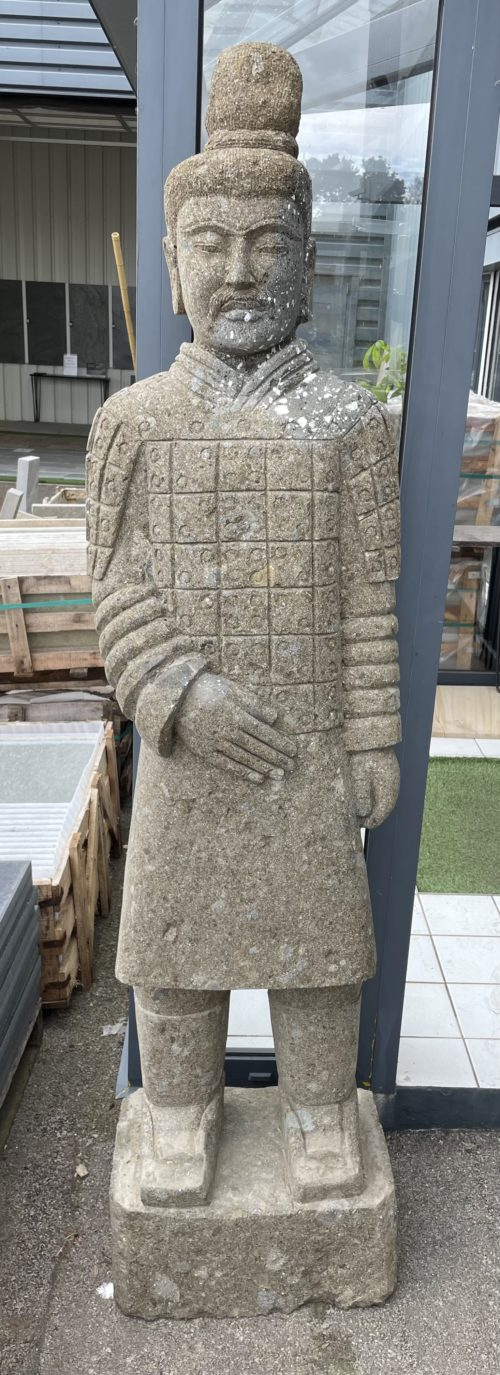 Statue guerrier xian